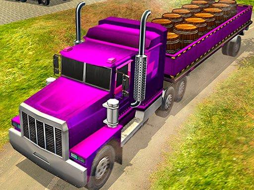 Juega City Cargo Trailer Transport juego