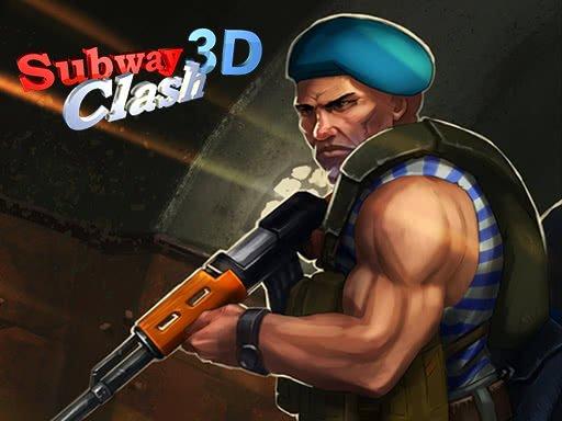 Juega Subway Clash 3D juego