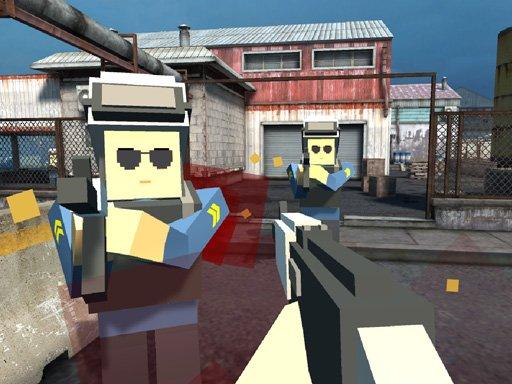 Juega Pixel Factory Battle 3D.IO juego