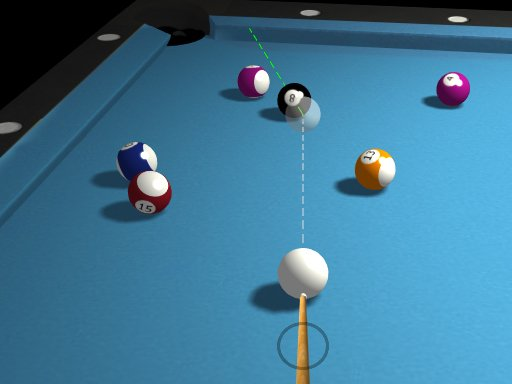 Juega 3D Billiard 8 Ball Pool juego