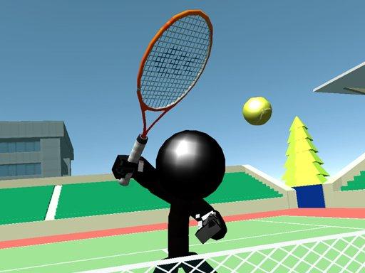 Juega Stickman Tennis 3D juego