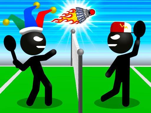 Juega Stickman Sports Badminton juego