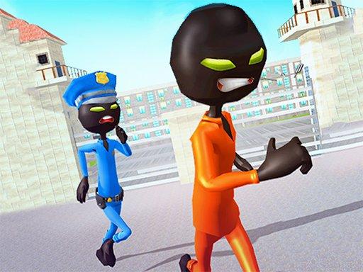 Juega Stickman Prison Escape Story 3D juego