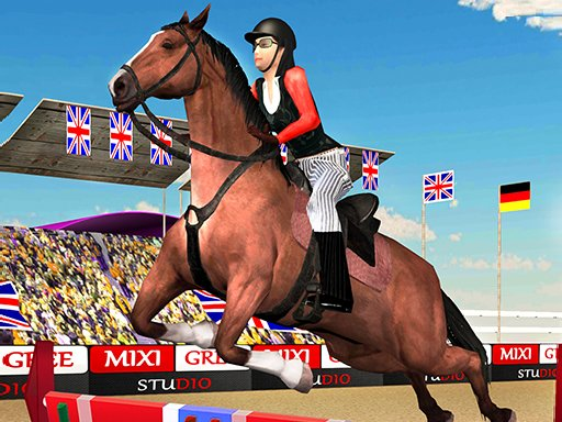 Juega Horse Jumping Show 3D juego