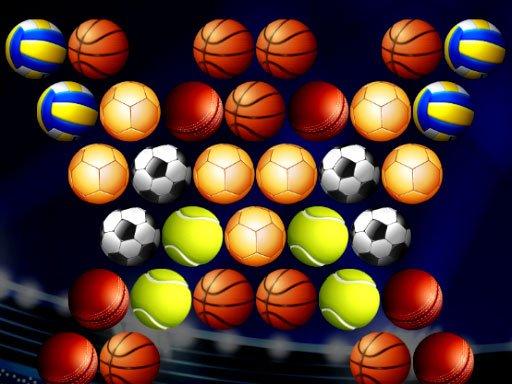 Juega Bubble Shooter Golden Football juego