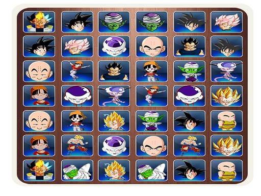 Juega Find The Dragon Ball Z Face juego