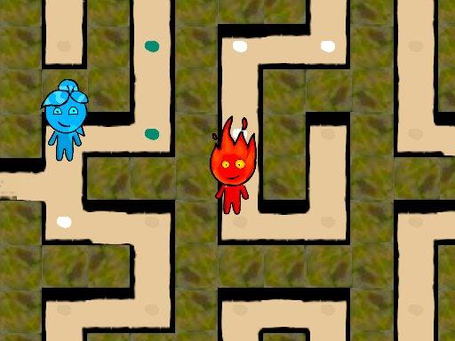 Juega Fireboy and Watergirl Maze juego