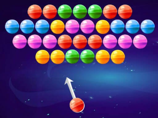 Juega Bubble Shooter Candies juego
