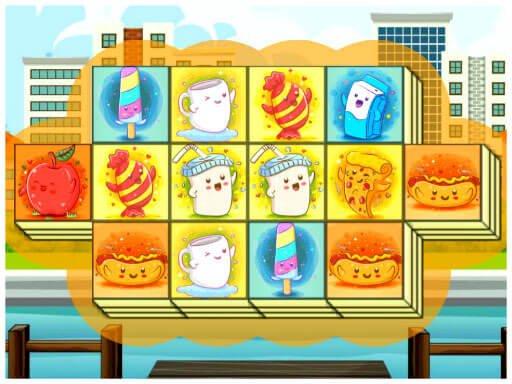 Juega Foody Triple Mahjong juego