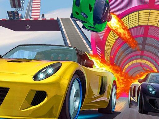 Juega Mega Ramp Car Jumping juego