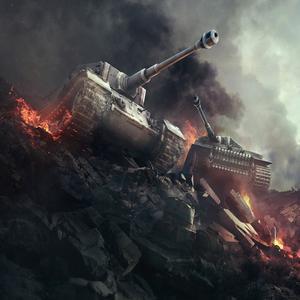 Juega Battle Of Tanks juego