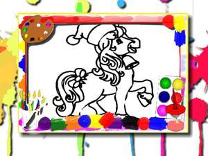 Juega Horse Coloring Book juego