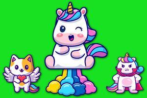 Juega Unicorns Jumper juego