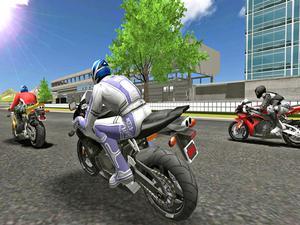 Play Motor Racer 3D Game