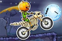 Juega Moto X3M Spooky Land juego