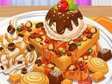 Juega Yummy Waffle Ice Cream juego