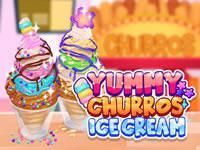 Juega Yummy Churros Ice Cream juego