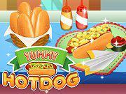 Juega Yummy Hotdog juego