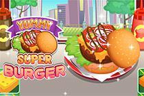 Juega Yummy Super Burger juego
