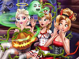 Juega Scary Cabin Halloween juego